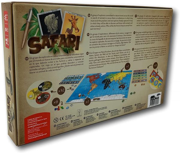 juego de mesa safari