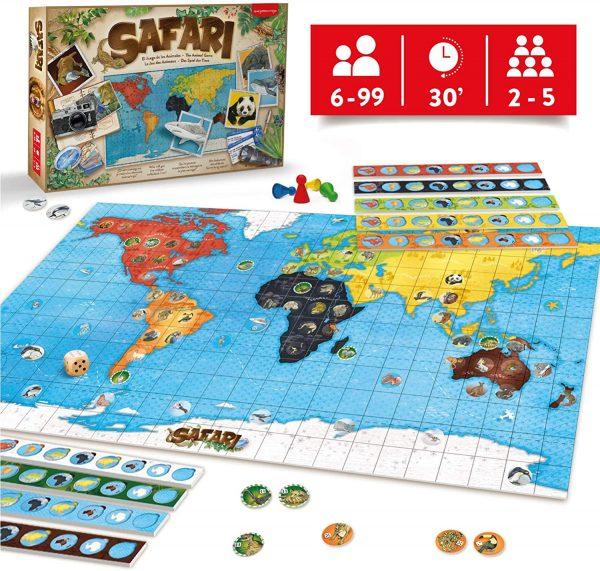juego mesa safari niño