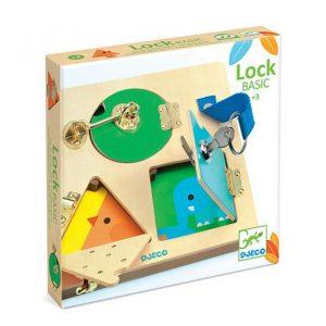 juego cerraduras lock basic
