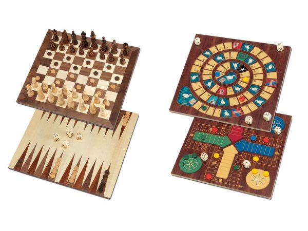juego de mesa 5 en 1