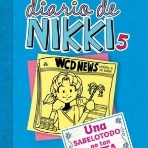 libro DIARIO DE NIKKI  UNA SABELOTODO NO TAN LISTA