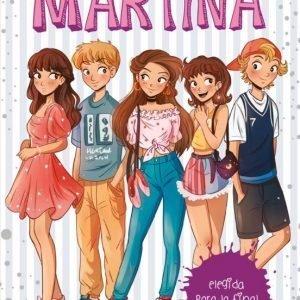 libro ELEGIDA PARA LA FINAL LA DIVERSION DE MARTINA
