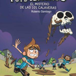 libro FUTBOLISIMOS  EL MISTERIO DE LAS  CALAVERAS