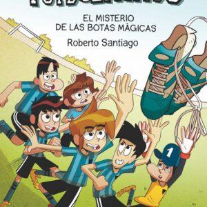 libro FUTBOLISIMOS  EL MISTERIO DE LAS BOTAS MAGICAS
