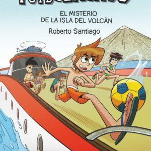 libro LOS FUTBOLISIMOS  EL MISTERIO DE LA ISLA DEL VOLCAN