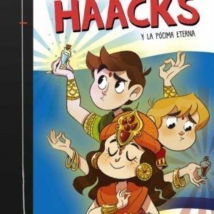 libro THE CRAZY HAACKS Y LA POCIMA ETERNA SERIE THE CRAZY HAACKS