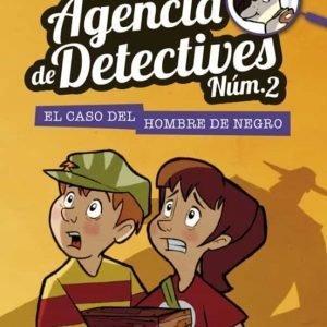 libro agencia de detectives no el caso del hombre de negro