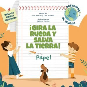 Libros medio ambiente para niños sobre papel