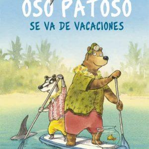 libro oso patoso se va de vacaciones