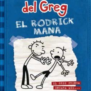 llibre DIARI DEL GREG  EL RODRICK MANA