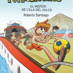 llibre ELS FUTBOLISSIMS  EL MISTERI DE L ILLA DEL VOLCA