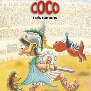 llibre El petit drac Coco i els romans