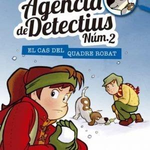 llibre agencia de detectius no el cas del quadre robat