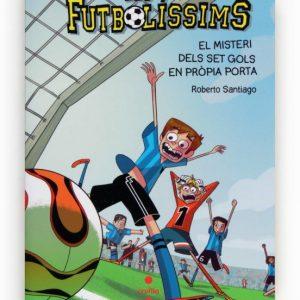 llibre futbolissims el misteri dels set gols en propia porta