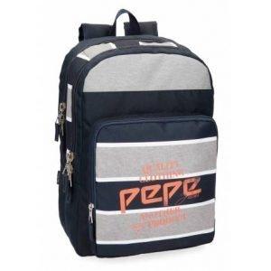 mochila escolar pepe jeansxcm poli